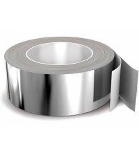 Скотч алюминиевый термостойкий  50мм х 25м премиум Крафт