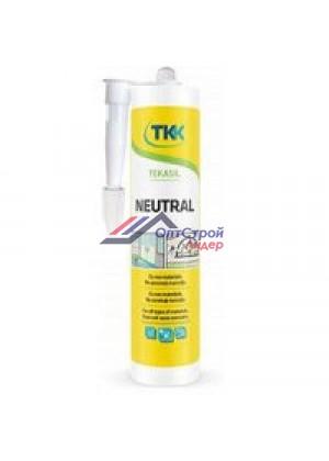 Tekasil Neutral нейтральный силиконовый герметик серый 300мл