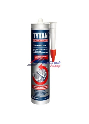 Герметик силиконовый Tytan Professional высокотемпературный красный 310 мл