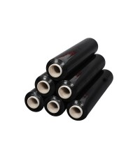 Стрейч пленка 500мм*23мкм (2,2кг) черная, 190м.