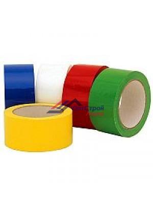 Скотч (клейкая лента) цветной 48 мм, 60м, 45 мкм