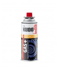 Баллон газовый Kudo , цанговый (бутан/пропан) 220 гр