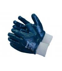 Перчатки с нитриловым покрытием  маслобензостойкая