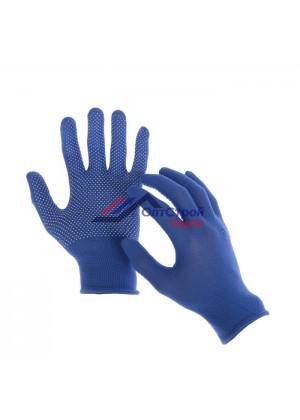 Перчатки, х/б, с нейлоновой нитью, с ПВХ точками