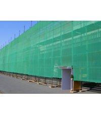 Фасадная сетка, зеленая 3х100 м