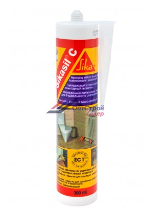 SIKA SIKASIL-C герметик силиконовый нейтральный универсальный  (300 мл)