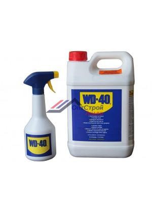 ВД-40 / WD-40 смазка универсальная 5л с распылителем