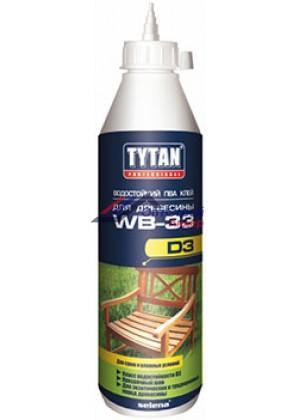Титан / Tytan Professional WB 33 D3 клей ПВА Д3 для древесины влагостойкий 750 гр