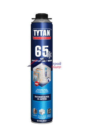 Титан 65 / TYTAN Professional 65 Пена профессиональная зимняя