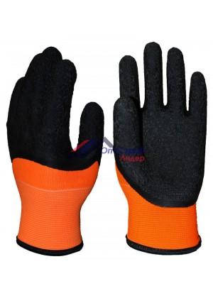 Перчатки акриловые с латексным покрытием  ''-20С ''
