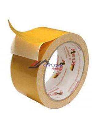 Скотч двухсторонний тканевый 50мм x 25м - Kraft Premium