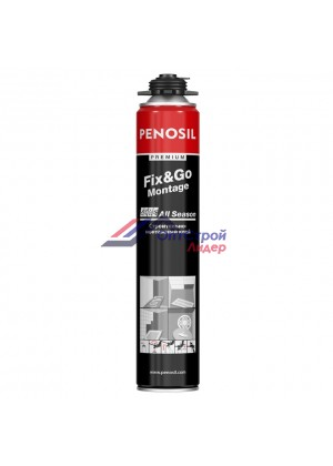 Монтажный клей-пена Penosil Premium Fix&Go Montage All Season