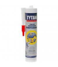 Герметик Tytan, универсальный, силиконовый, бесцветный, 310мл
