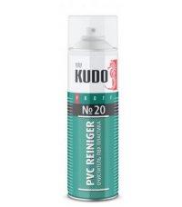 Очиститель ПВХ пластика KUDO №10 (650мл)
