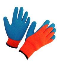 Перчатки зимние акриловые с латексным покрытием