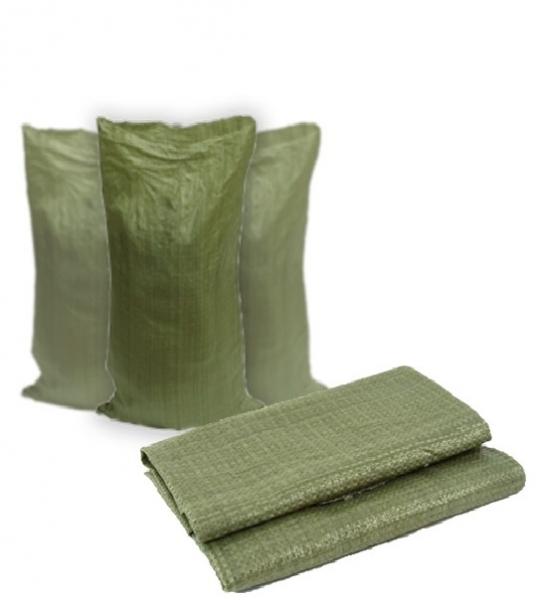 мешки зеленые для мусора строительные